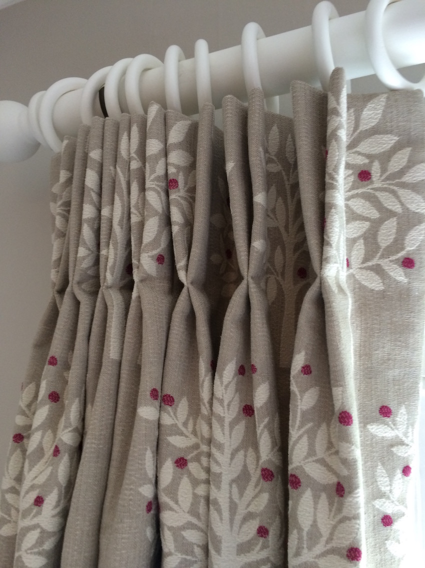 Handmade Interlined Curtains For A Girl S Bedroom Latest